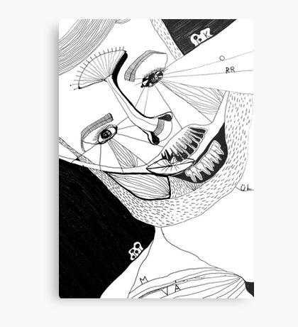 BAANTAL / Hominis ! Faces #12 Metal Print