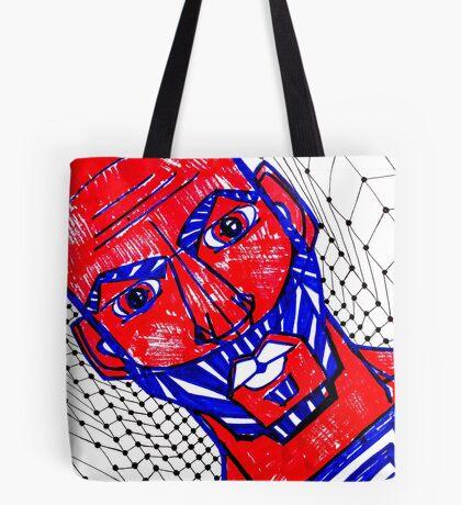 BAANTAL / Hominis / Faces #13 Tote Bag