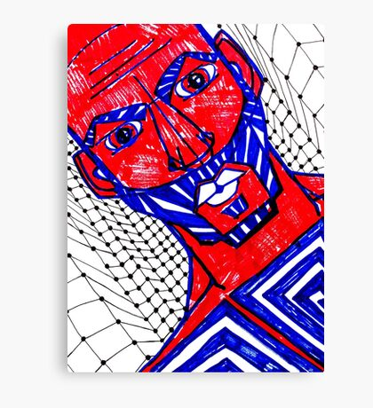 BAANTAL / Hominis / Faces #13 Canvas Print