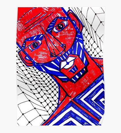 BAANTAL / Hominis / Faces #13 Poster