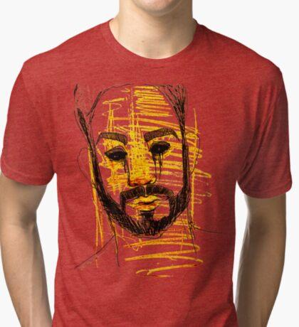 BAANTAL / Hominis / Faces #10 Tri-blend T-Shirt