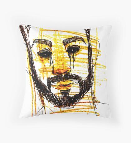 BAANTAL / Hominis / Faces #10 Throw Pillow