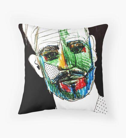 BAANTAL / Hominis / Faces #9 Floor Pillow