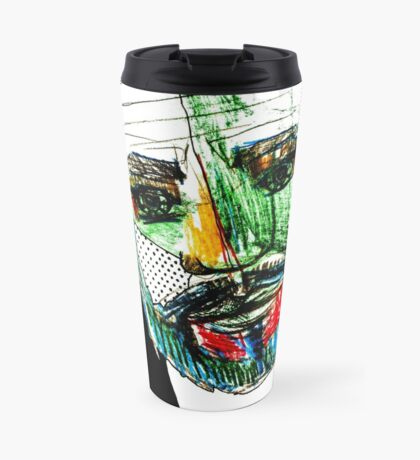 BAANTAL / Hominis / Faces #9 Travel Mug
