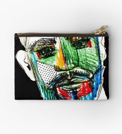 BAANTAL / Hominis / Faces #9 Zipper Pouch
