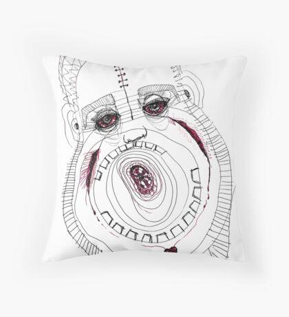 BAANTAL / Hominis / Faces #8 Throw Pillow
