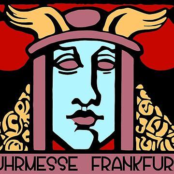 Jugendstil Einfuhrmesse Frankfurt red by aapshop