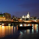 Magical Night on the Thames by Marita Sutherlin