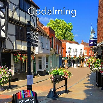 Godalming Historic Church Street by Picturestation