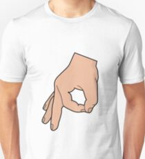 The circle hand game Unisex T-Shirt