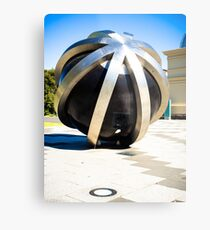 Round Sculpture Metal Print