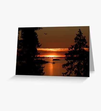 Winchelsea Islands Sunset Greeting Card