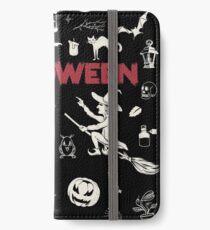 Best of Halloween - Collage - Topseller iPhone Wallet/Case/Skin