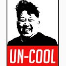 KIM JONG UN BOOM FUNNY SHIRT UN COOL by Motion45