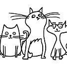 Cartoon Cats by imphavok