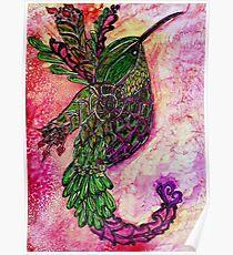 Doodle Bird Poster