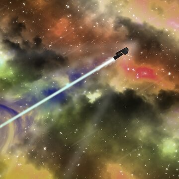 Travel through space by TEOillustration