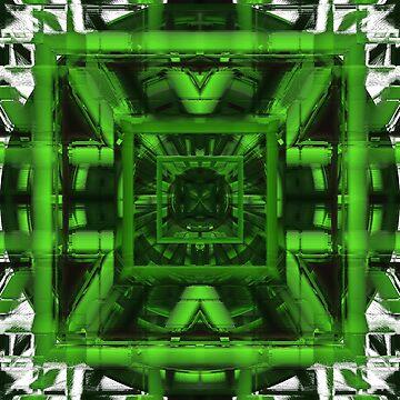 Green and geometric by TiiaVissak
