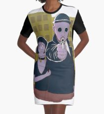 Leon The Professional Graphic T-Shirt Dress