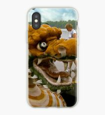 Into the Belly of the Dragon Boat iPhone Case