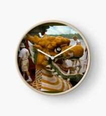 Into the Belly of the Dragon Boat Clock