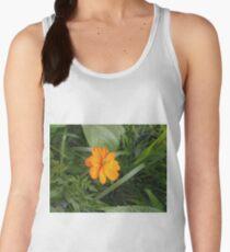 Flower, Sulfur cosmos,  Plants, Cosmos sulphureus Women's Tank Top