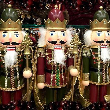 Christmas Nutcracker Trio by Gravityx9