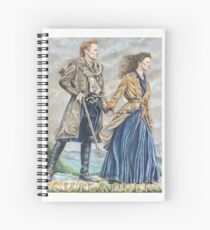 The Frasers on their Ridge Spiral Notebook