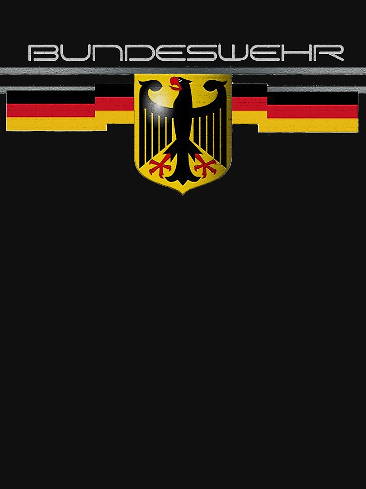 Bundeswehr German Eagle and Flag by edsimoneit