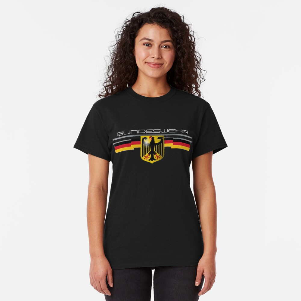 Bundeswehr German Eagle and Flag Classic T-Shirt