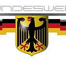 Bundeswehr German Eagle and Flag by edsimoneit