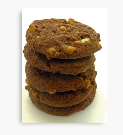 choc chip cookies Canvas Print