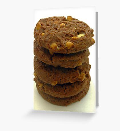 choc chip cookies Greeting Card