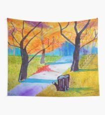 Dirt Road Wall Tapestry
