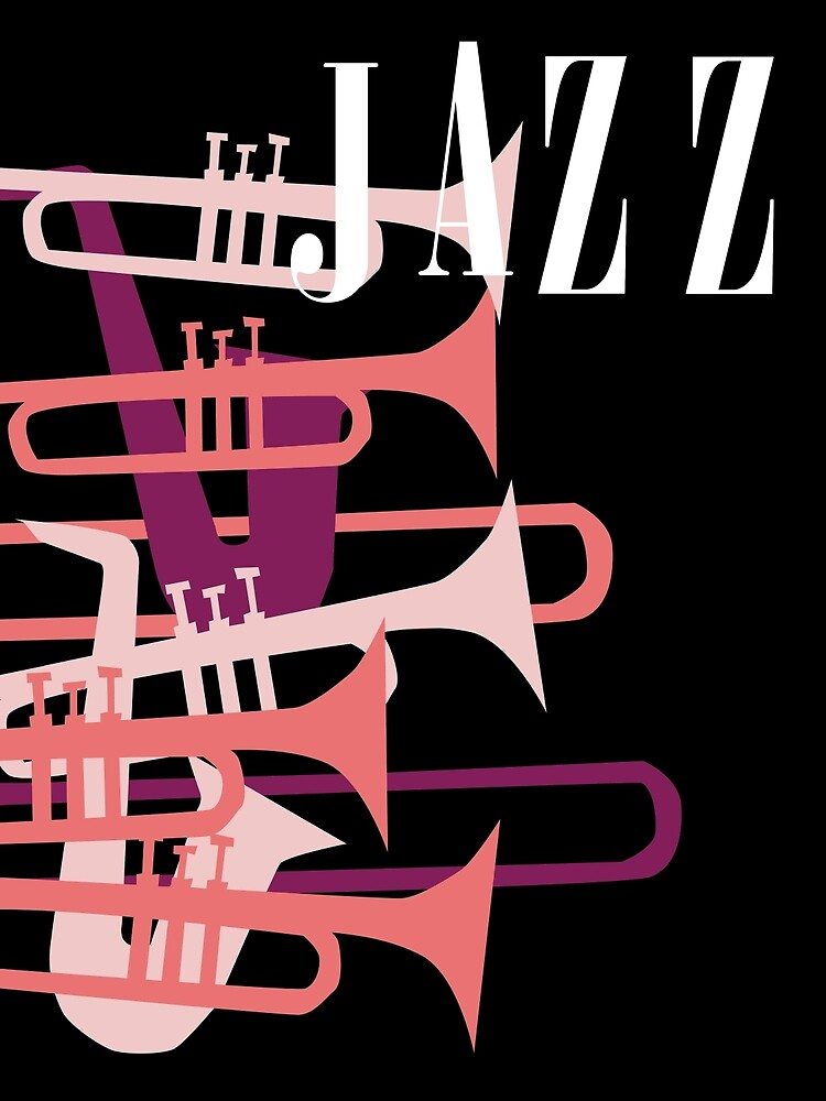 Jazz Big Band Homage Poster Design, For Jazz Musicians and