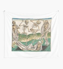 Danse Macabre Wall Tapestry