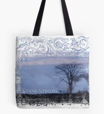 """AHT - Words Of Life  """"Stand Strong"""" Tote Bag"""