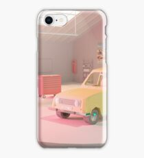Yellow Automobile iPhone Case/Skin