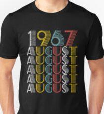 Vintage August 1967 Style Unisex T-Shirt