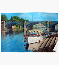 Nottingham reflections - Trent Bridge II Poster