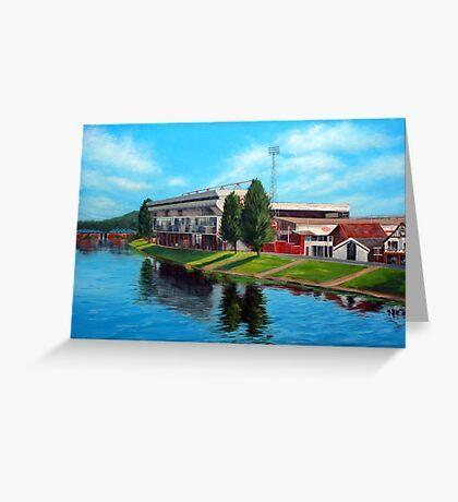 Nottingham reflections - Trent Bridge IIII Greeting Card