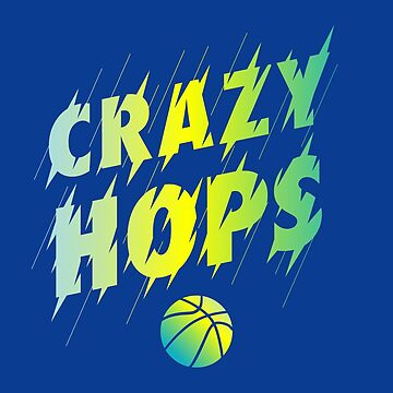 Crazy Hops Basketball T-Shirt by JNicheMerch2018