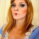 dark alice in wonderland by alana janesse artist/ makeup artist