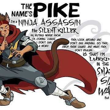 The Name's Pike by heidiblack