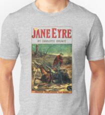 Jane Eyre Charlotte Bronte Vintage Cover Unisex T-Shirt