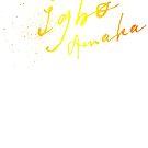 Igbo Amaka - splatter - Igbo inspired  by Learn Igbo Now
