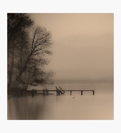 Haze Over Starnberger See Photographic Print