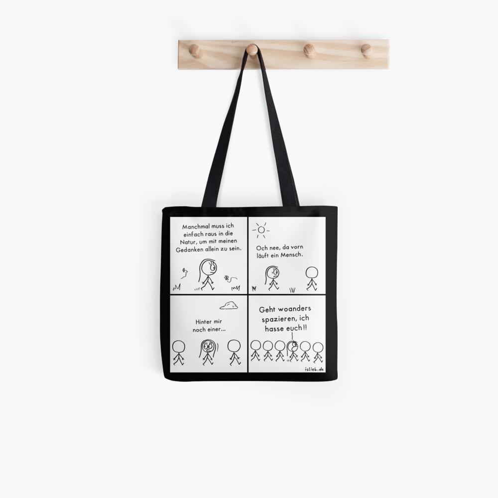 Natur islieb Comic Tote Bag