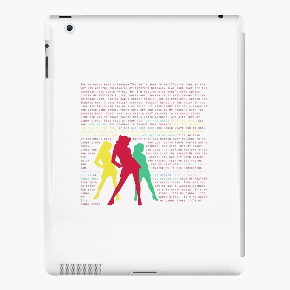 Candy Store-Heathers: Das Musical iPad-Hülle & Skin