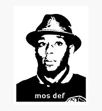 Mos def  Photographic Print